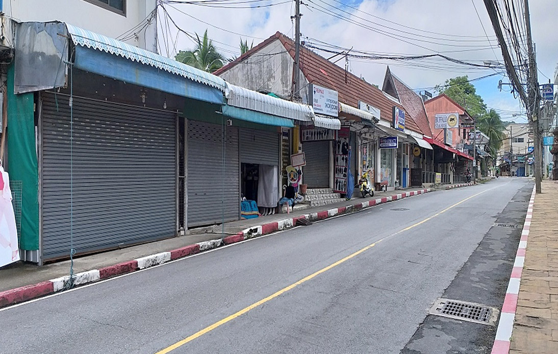 Phuket's Monthly Income Drops As Unemployment Rate Rises