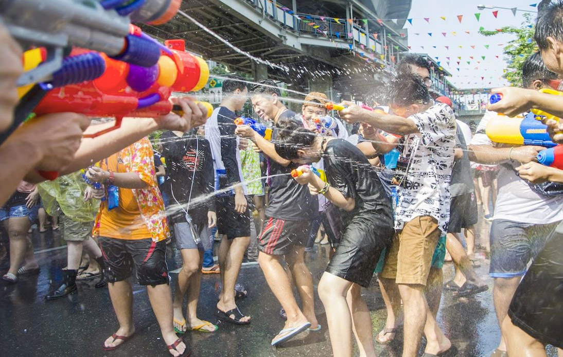 Songkran To Go Ahead With Social Distancing