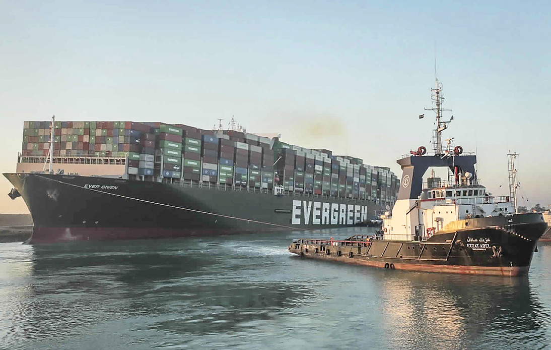 Container Ship Stuck in the Suez Canal Has Finally Been Freed