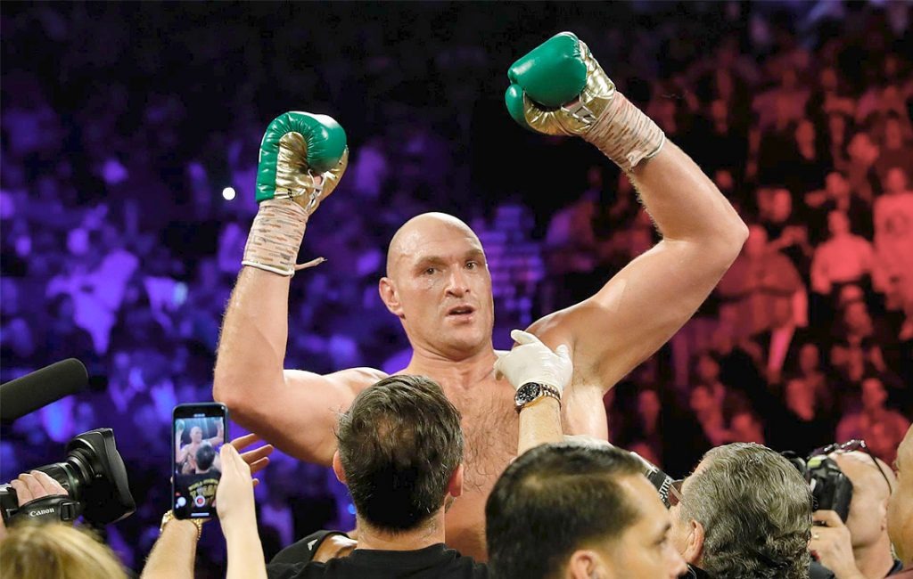 Fight Between Tyson Fury and Anthony Joshua Reportedly Agreed