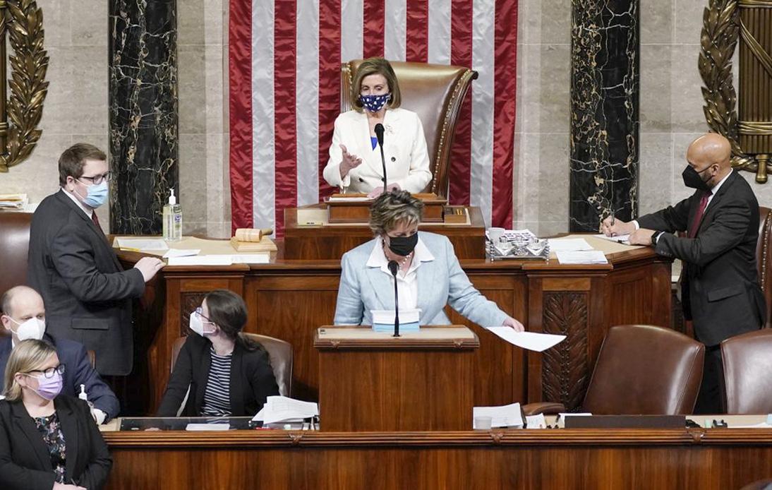 US Congress Passes Biden's $1.9Tn Pandemic Relief Bill