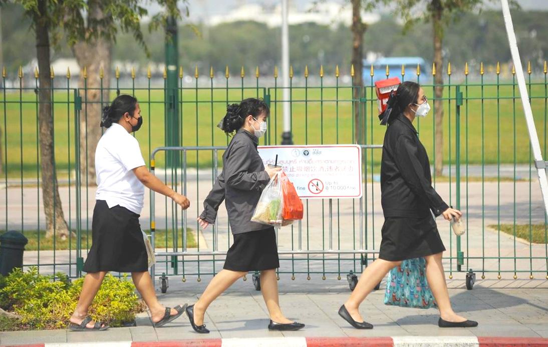 Bangkok Authorities Order People To Wear a Mask Starting Monday