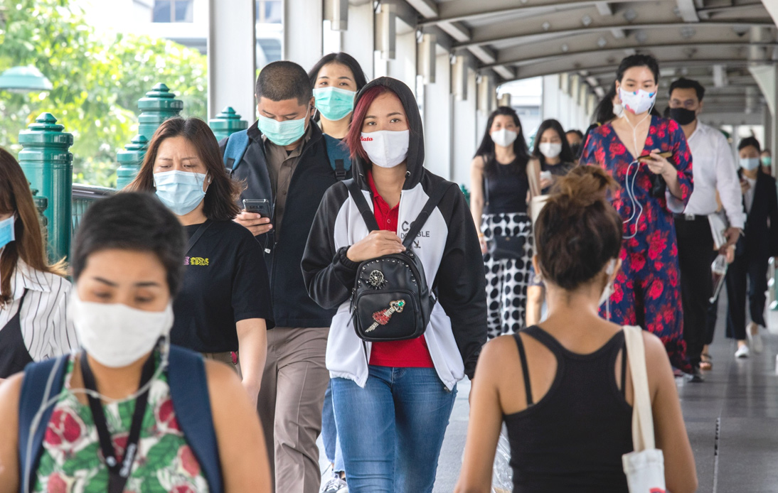 Thailand Reports New Record of 2070 Infections and Four Deaths