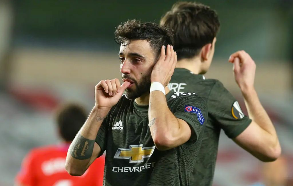 Man United Beat Granada in Europa League First Leg