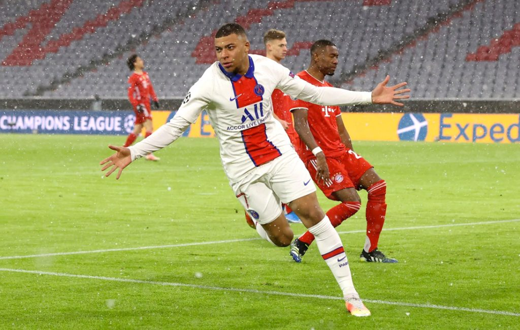 Guided by Mbappe, PSG Beat Bayern in Seesaw Game
