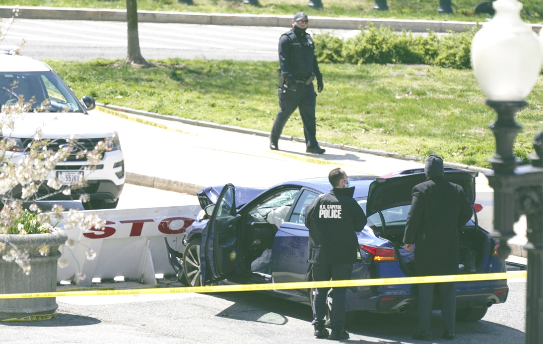 US Capitol Officer Killed After Car Rams Into Security Barrier