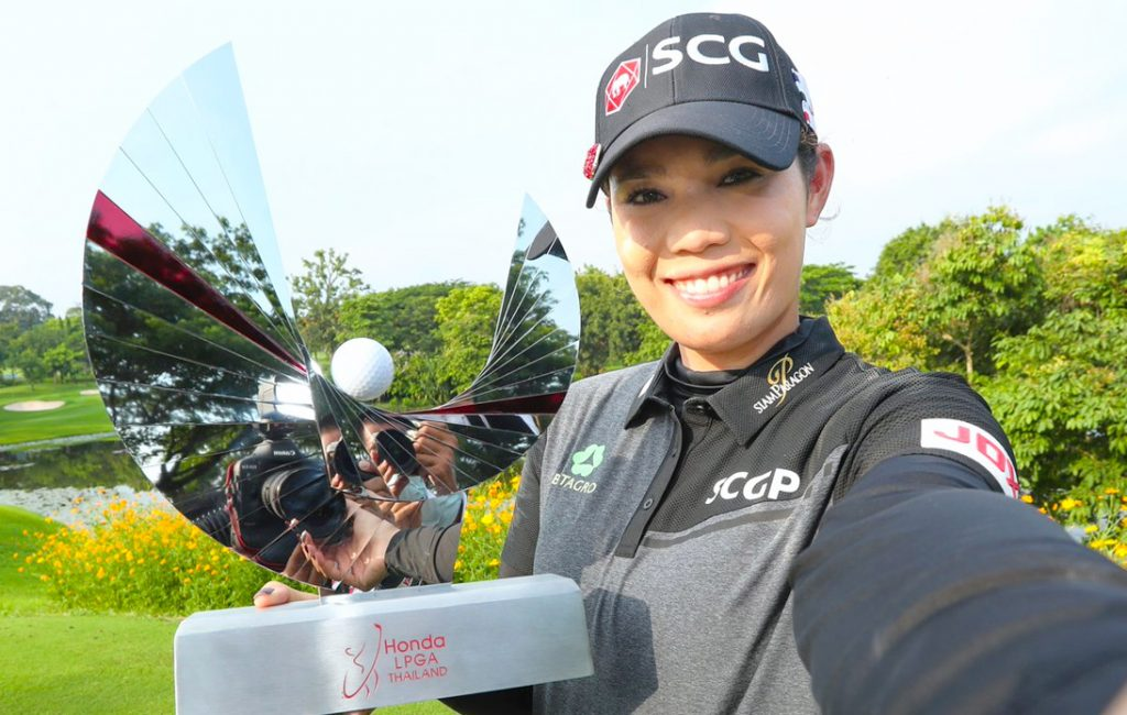 Ariya Jutanugarn Breaks Curse To Win the LPGA Thailand