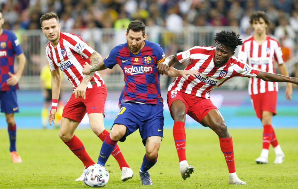 Barcelona Take On Atletico Madrid in Crucial Title Clash
