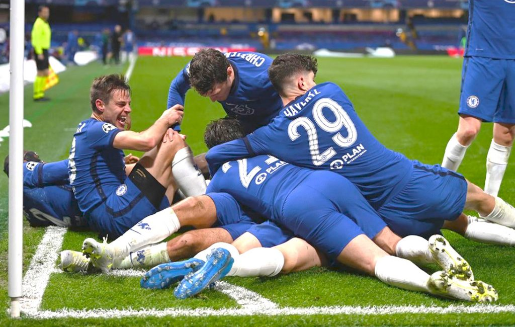 Chelsea Beat Real Madrid To Advance to UCL Final