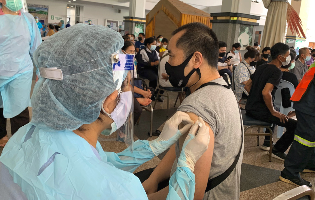 Expats Can Get COVID-19 Vaccines, Thailand's Disease Control Department Says