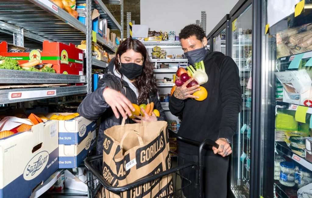 Gorillas Brings 10-Minute Grocery Deliveries to the US