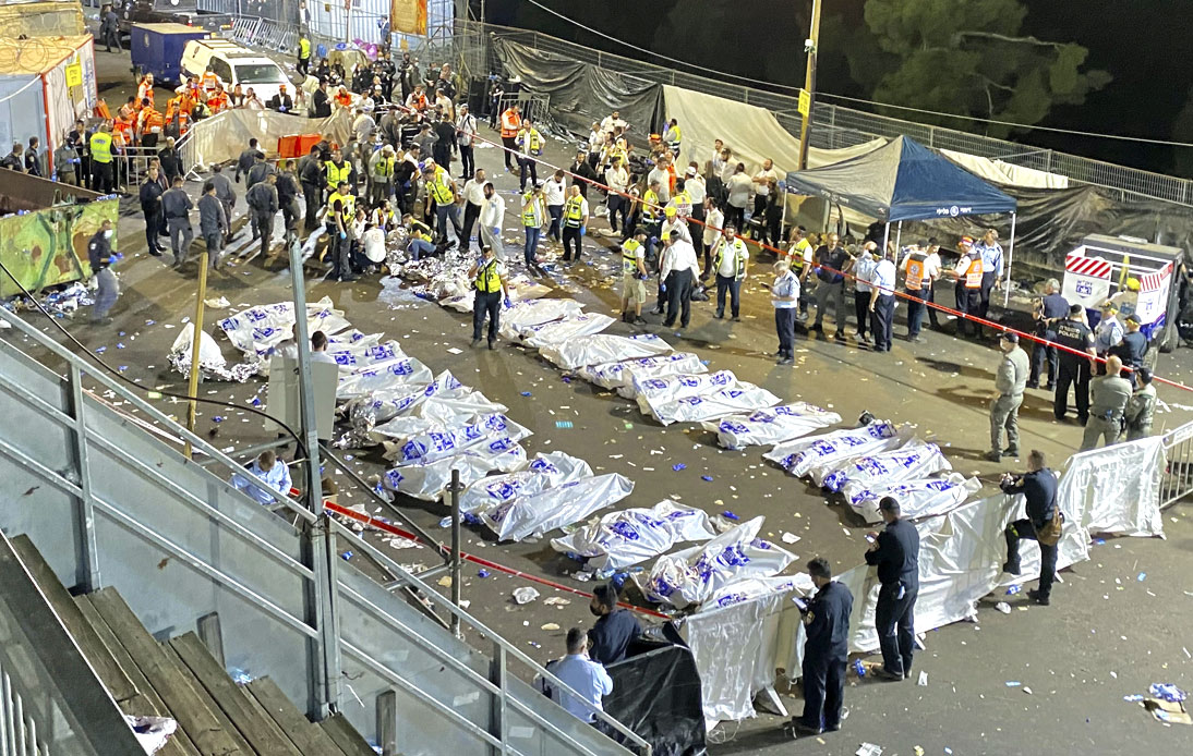 Israel Mourns 45 Deaths in Crush at Religious Festival