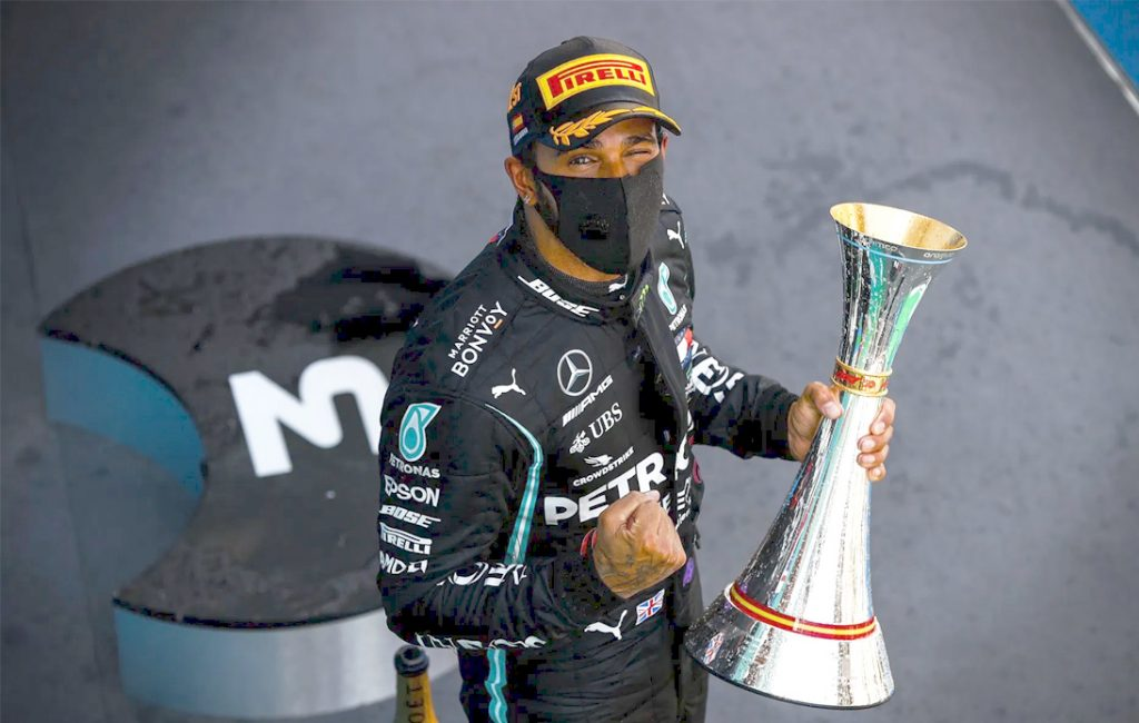 Lewis Hamilton Snatches Spanish Grand Prix From Max Verstappen
