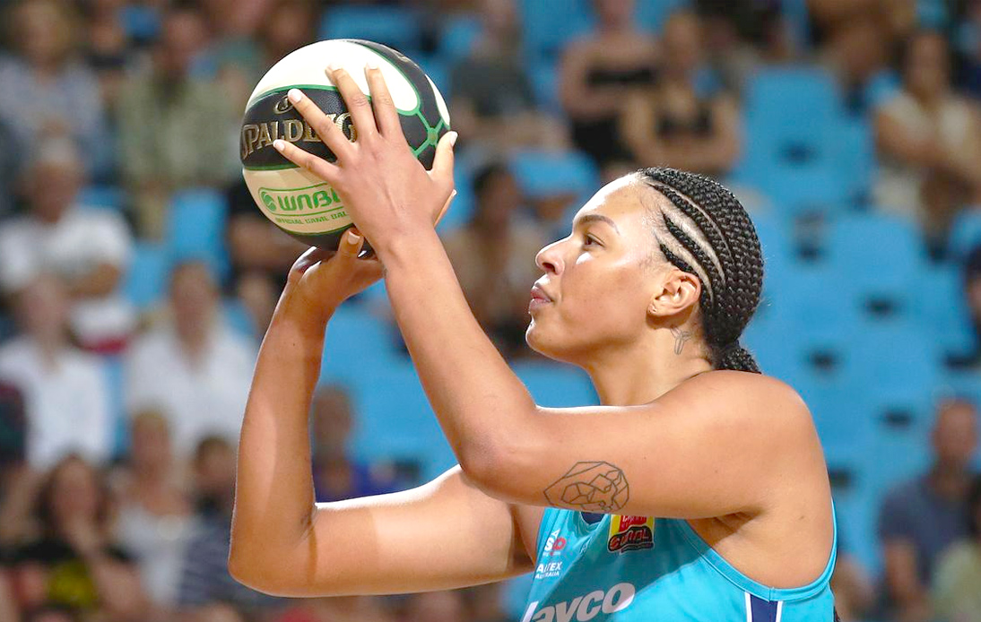 """Australian Basketball Player Accuses Olympic Committee of """"Whitewashing"""" Promotional Photos"""