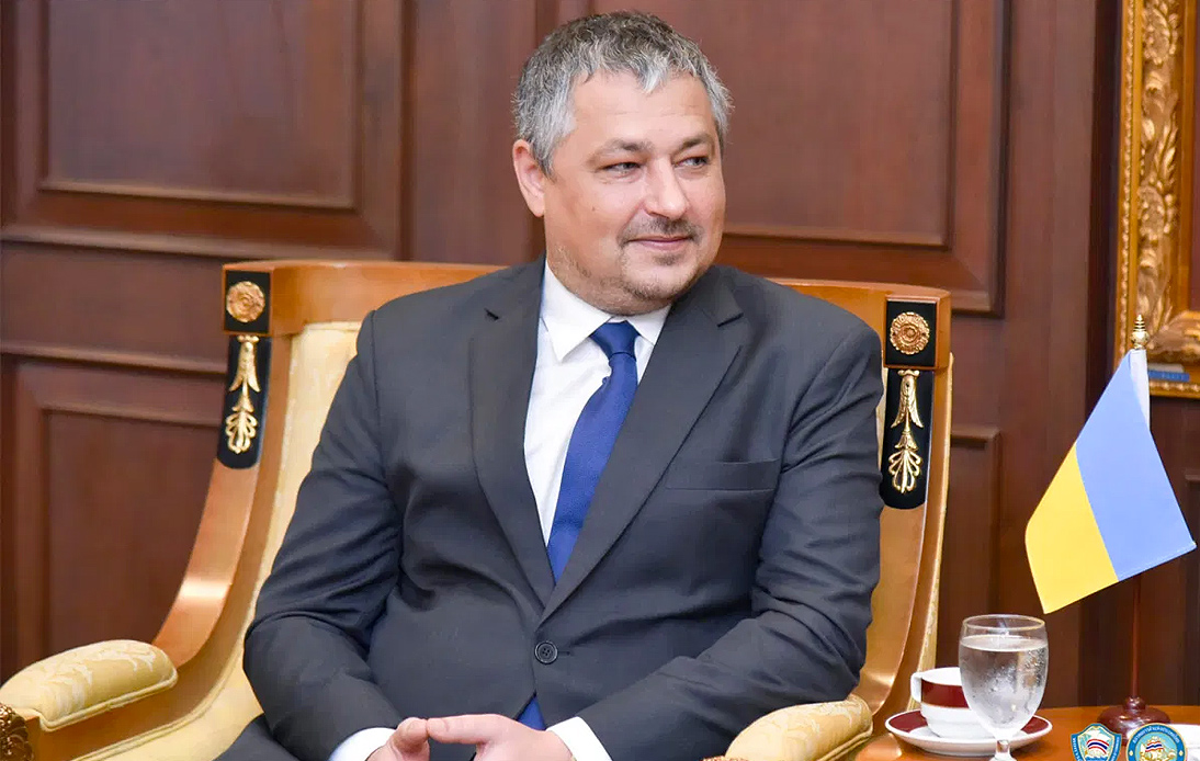 Ukraine's Ambassador to Thailand Reportedly Died From a Heart Attack
