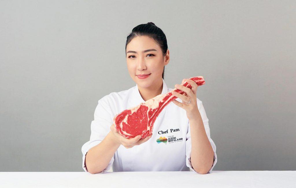 Chef Pam Made Thai Brand Ambassador for True Aussie Beef