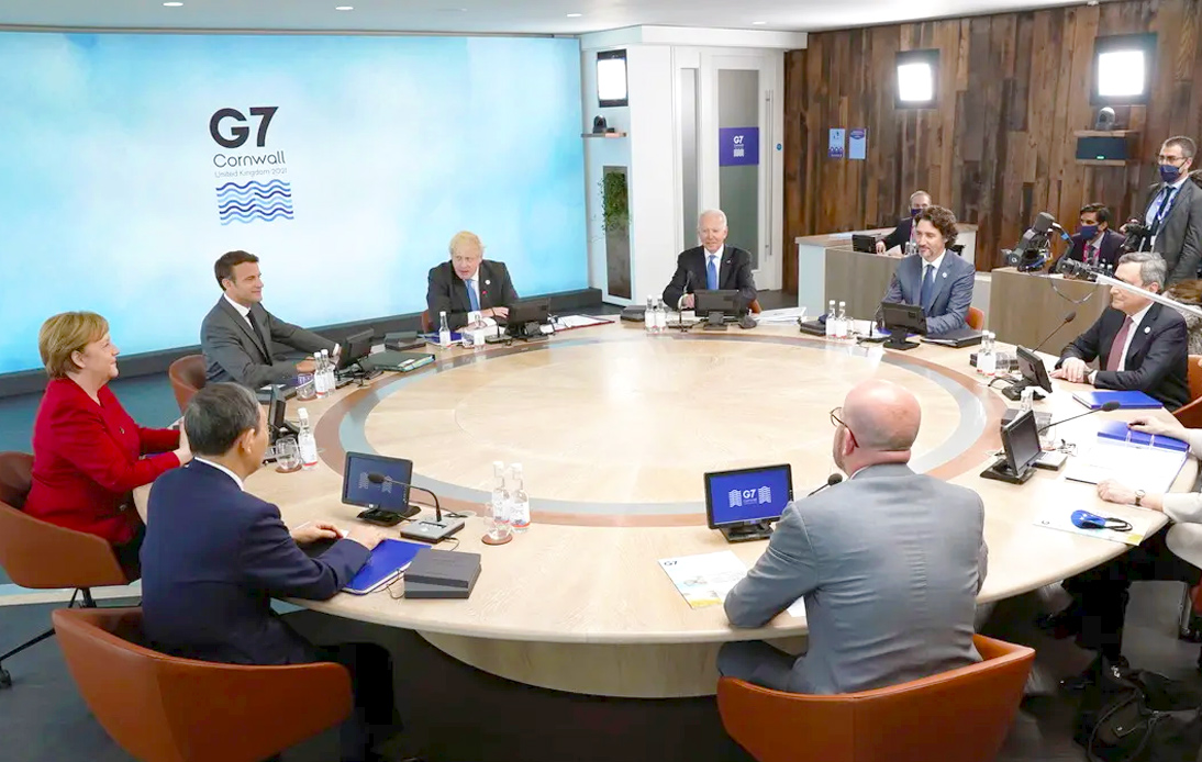 G7 Leaders Look To Implement Global Infrastructure Plan