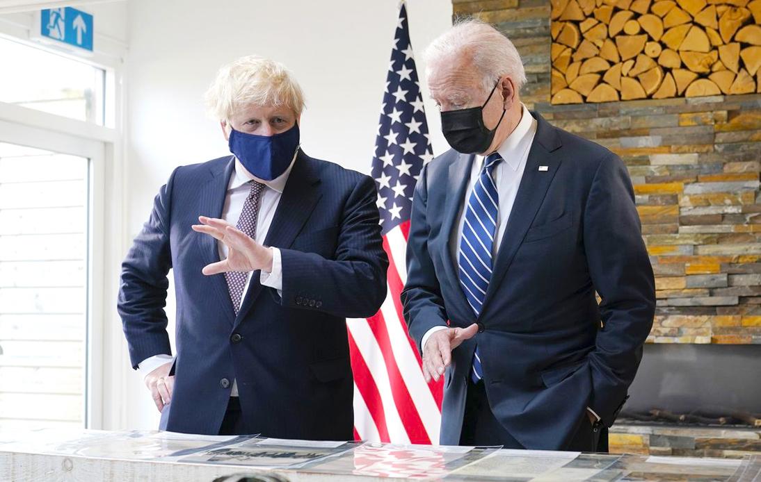 Joe Biden and Boris Johnson Met Ahead of G7 Summit