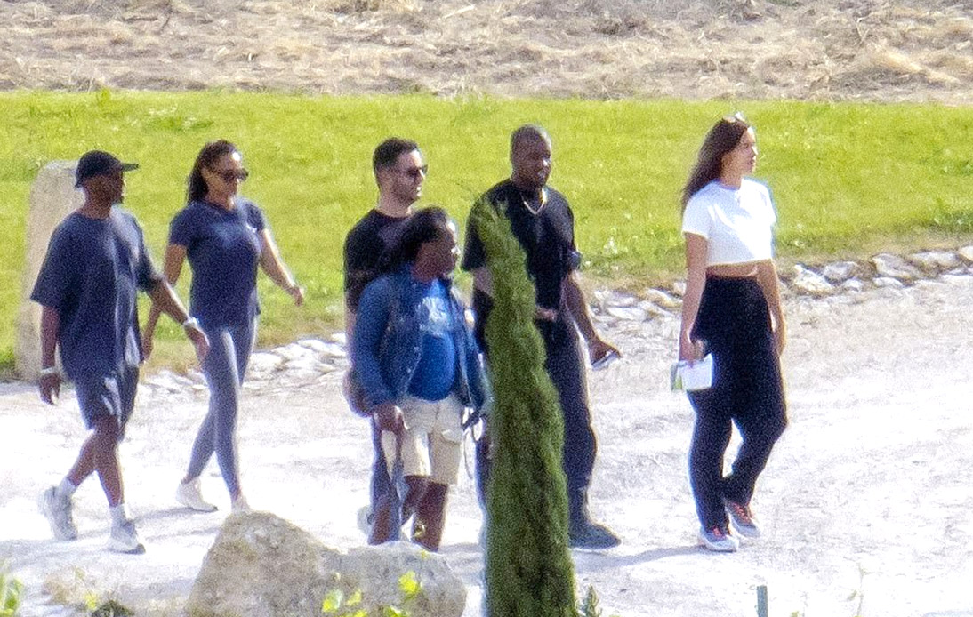 New Couple Kanye West and Irina Shayk Pictured in France