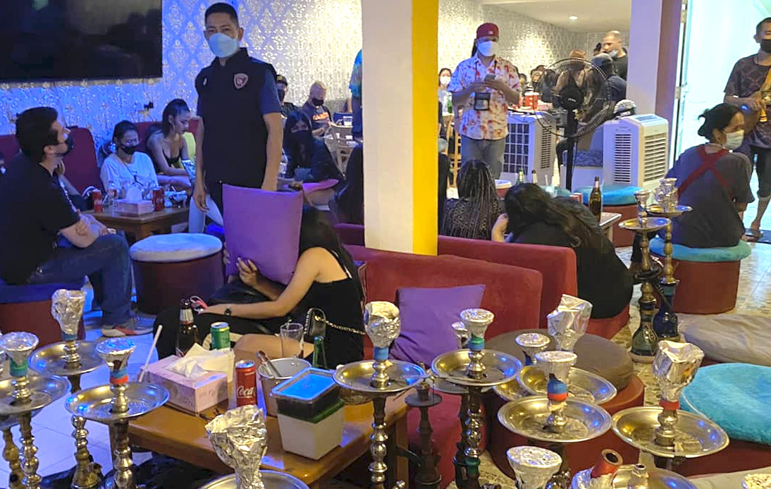 121 Arrested for Drinking Alcohol and Gathering in Pattaya