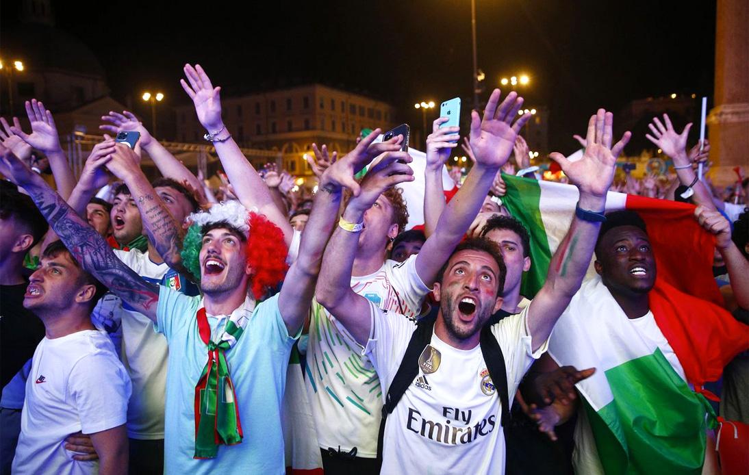 Italy's Euro 2020 Win Brings Joy to Covid-Ravaged Nation