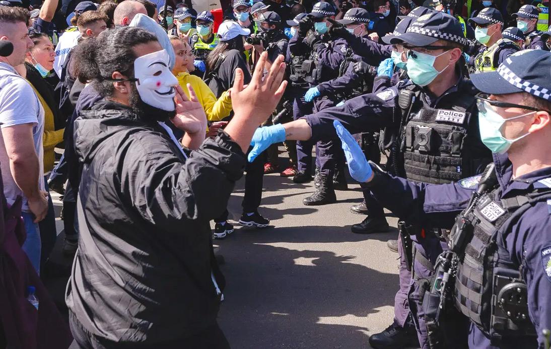 Dozens Arrested in Australia's Anti-lockdown Demonstrations