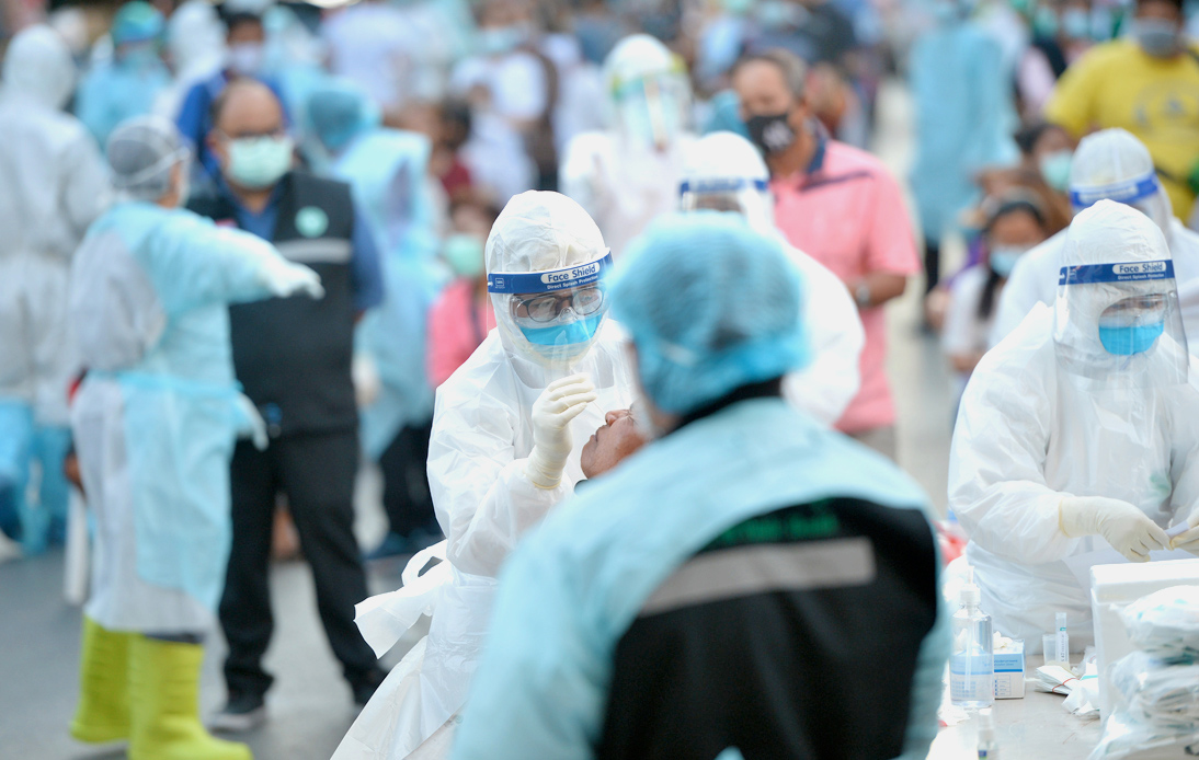 Thailand Logs Record 16,533 New COVID-19 Cases and 133 Deaths