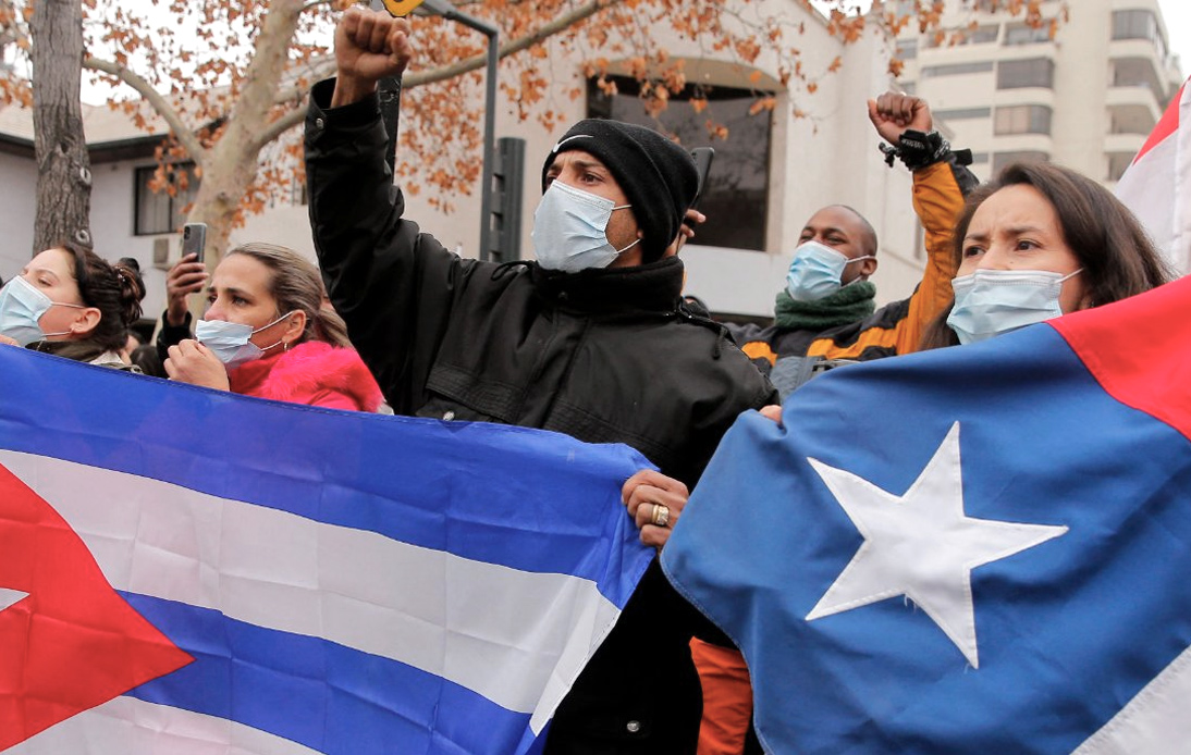 Dozens Arrested in Cuba During Anti-Government Rallies