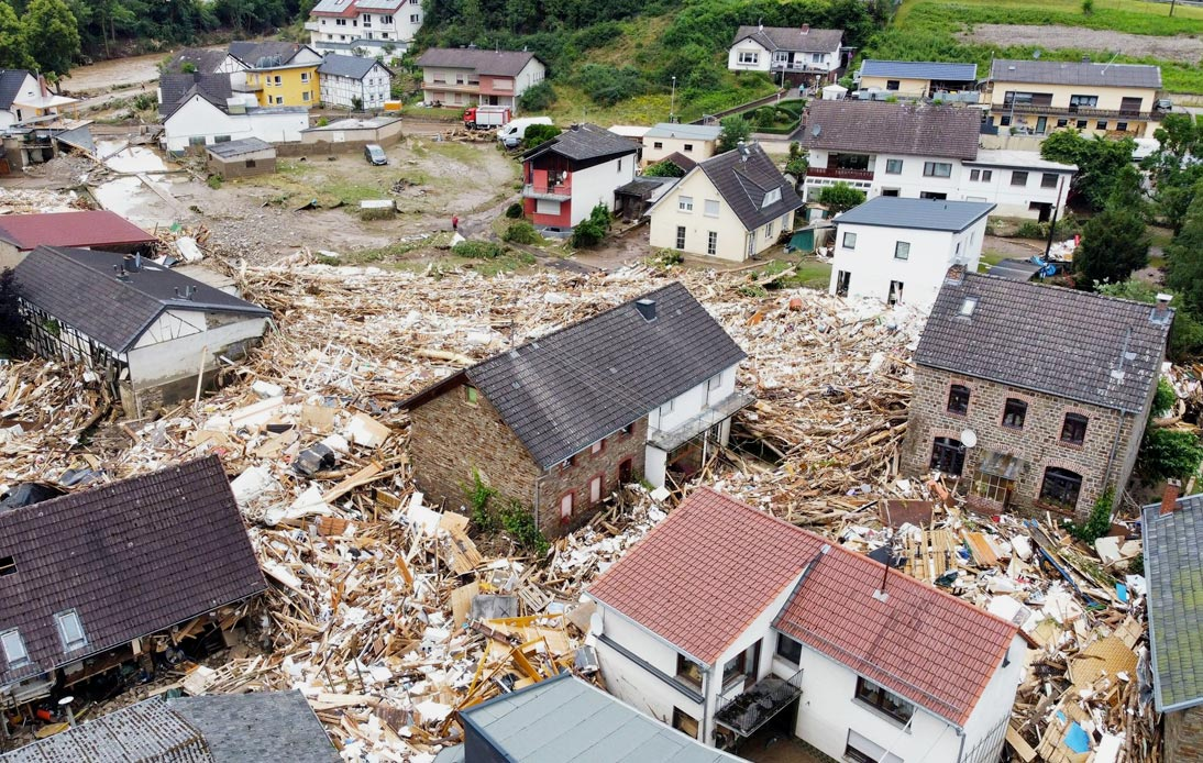 Germany and Belgium Report 70 Deaths After Record Rainfall