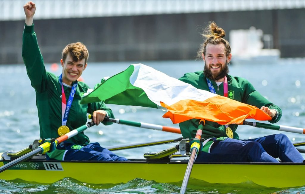 Rowing Gives Ireland Its First Gold Medal in Tokyo