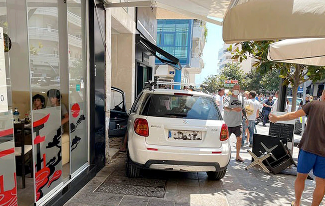 Eleven Injured in Marbella As Car Crashes Into Bar Terrace