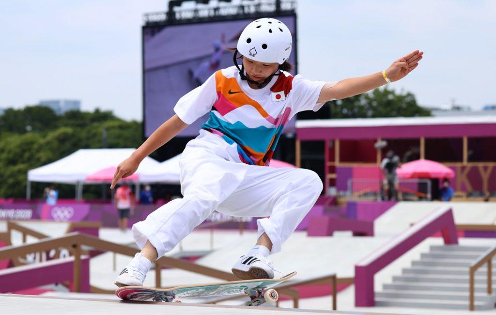 First-Ever Women's Street Skateboarding Winner is Just 13