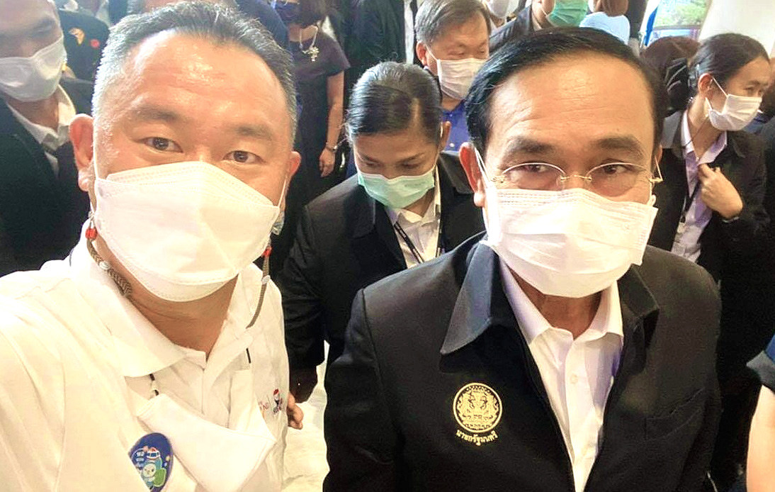 Thai PM Self-Isolates After Contact With Covid-19 Patient
