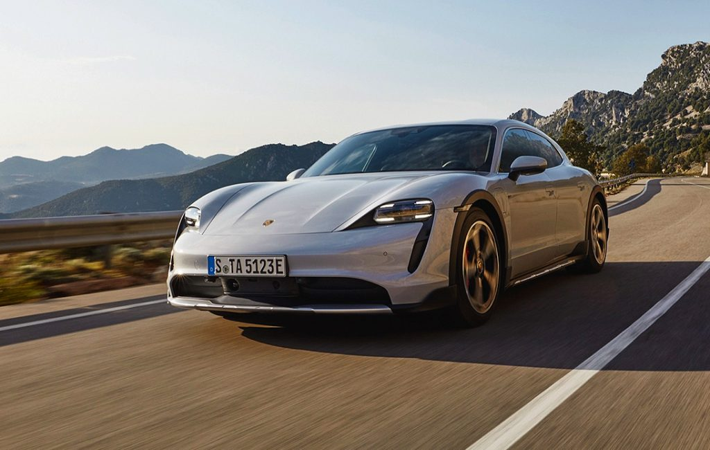 Porsche Release the Taycan 4S Cross Turismo in Thailand
