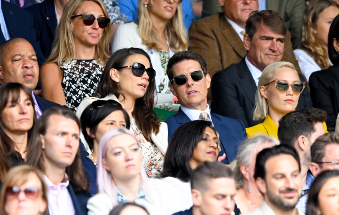 Hollywood Comes to London! Tom Cruise Visits Wimbledon