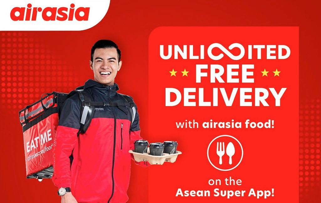 AirAsia Arrives in Thai Market With New Food Delivery App