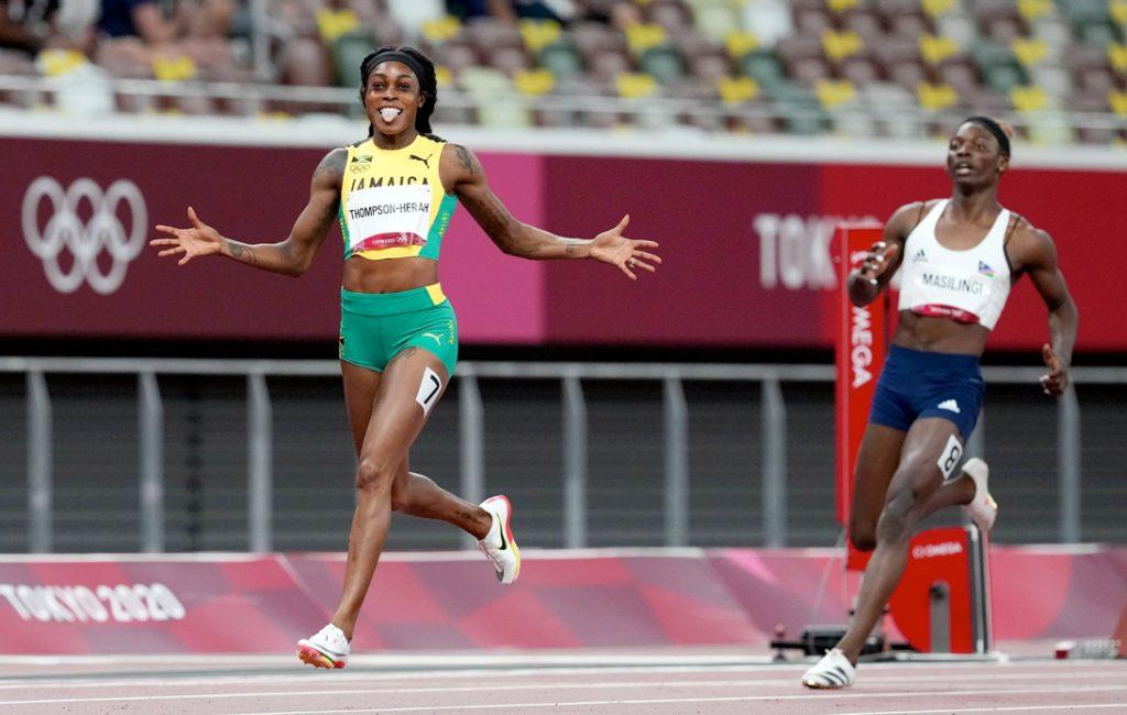 Athlete Elaine Thompson-Herah Wins Historic 'Double-Double'