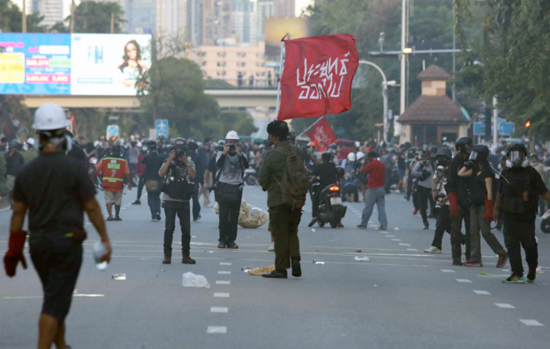 Police and Protesters Clash for the Third Consecutive Day