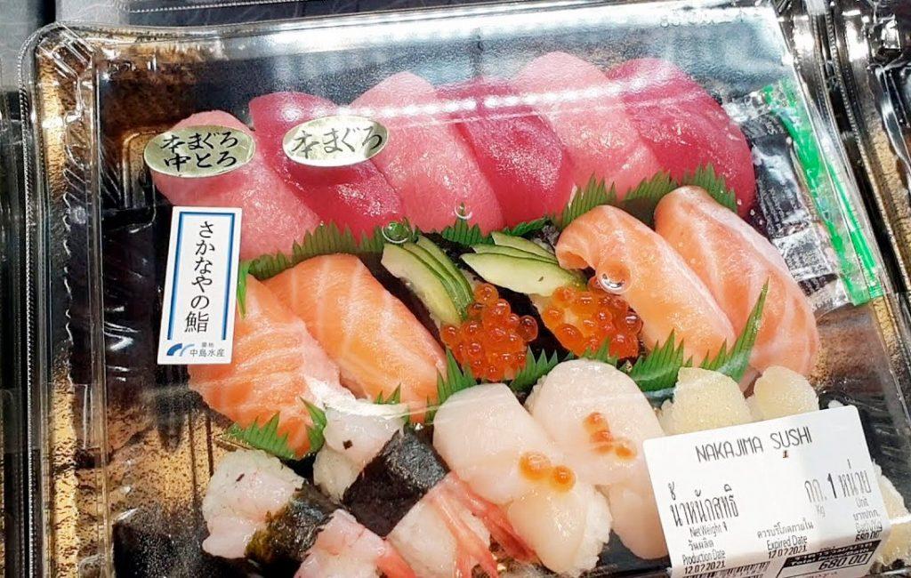 Siam Takashimaya Delivering Fresh Seafood to Customers