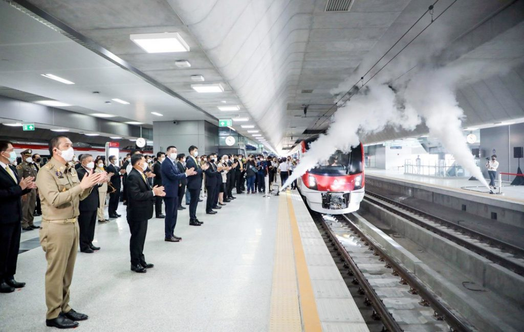 Bangkok's SRT Red Line Officially Launches With Free Rides