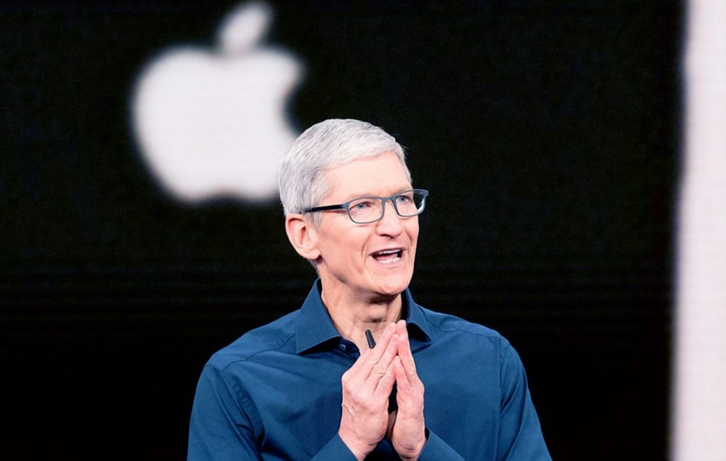 Tim Cook Celebrates 10 Years As Apple CEO With $750m