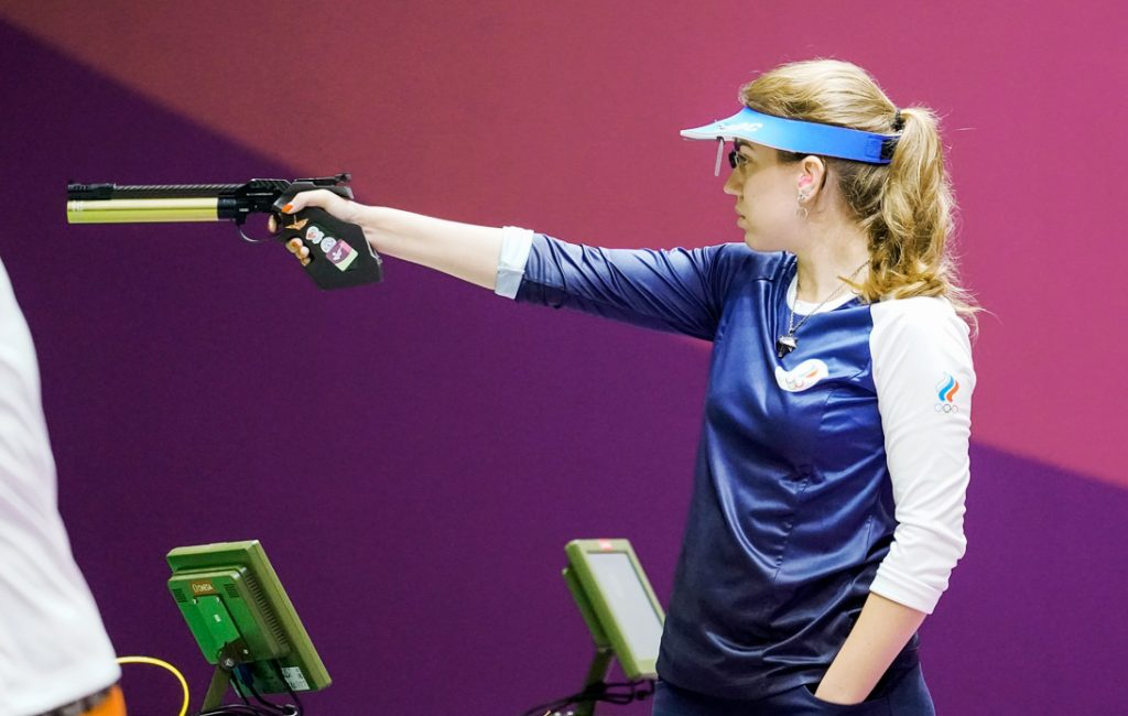Gold Medal Shooter Mansplained on How To Hold Her Gun