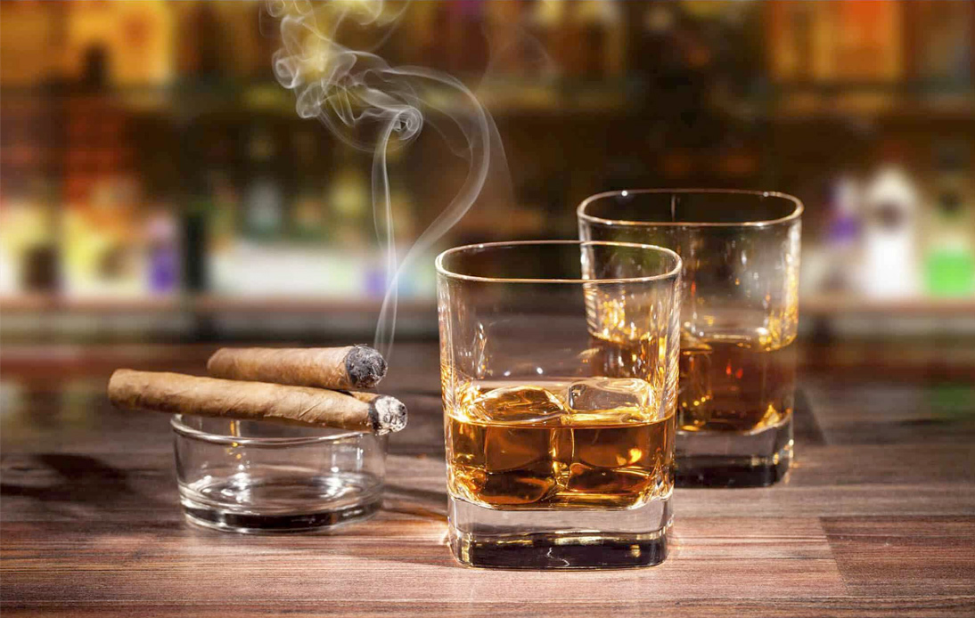 Import Duty To Be Cut on Alcoholic Beverages and Cigars