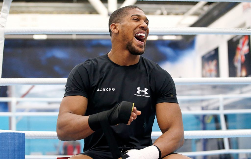 Anthony Joshua Prepares for Usyk but Wants Fury Fight