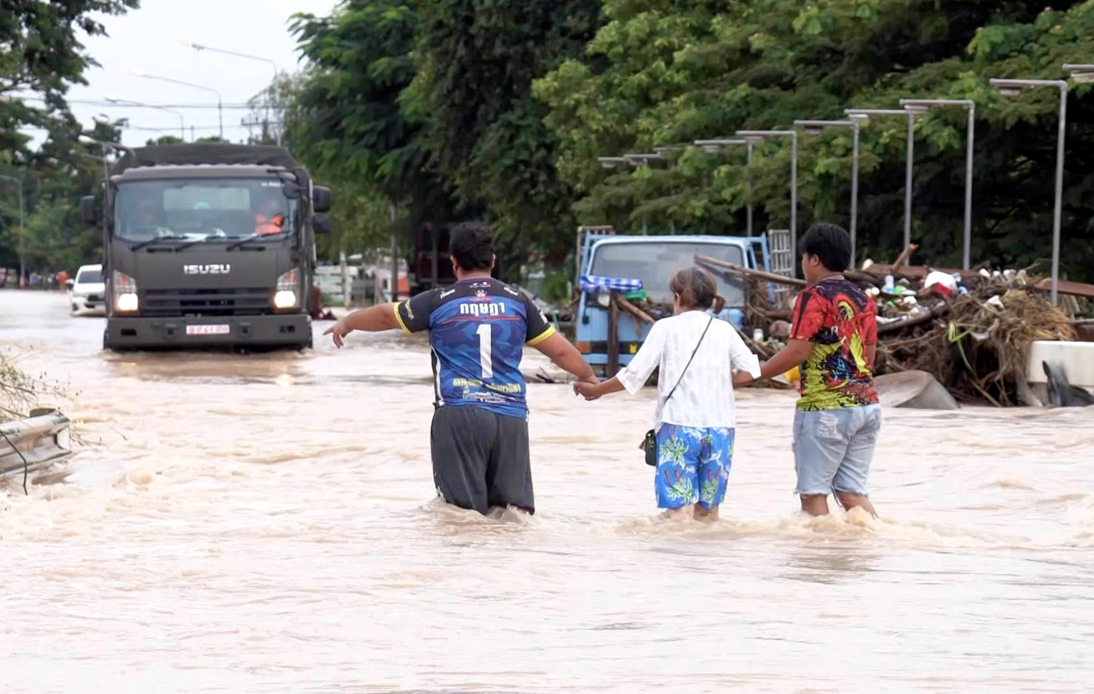 Chaiyaphum Declares Flooded Districts As Disaster Zones