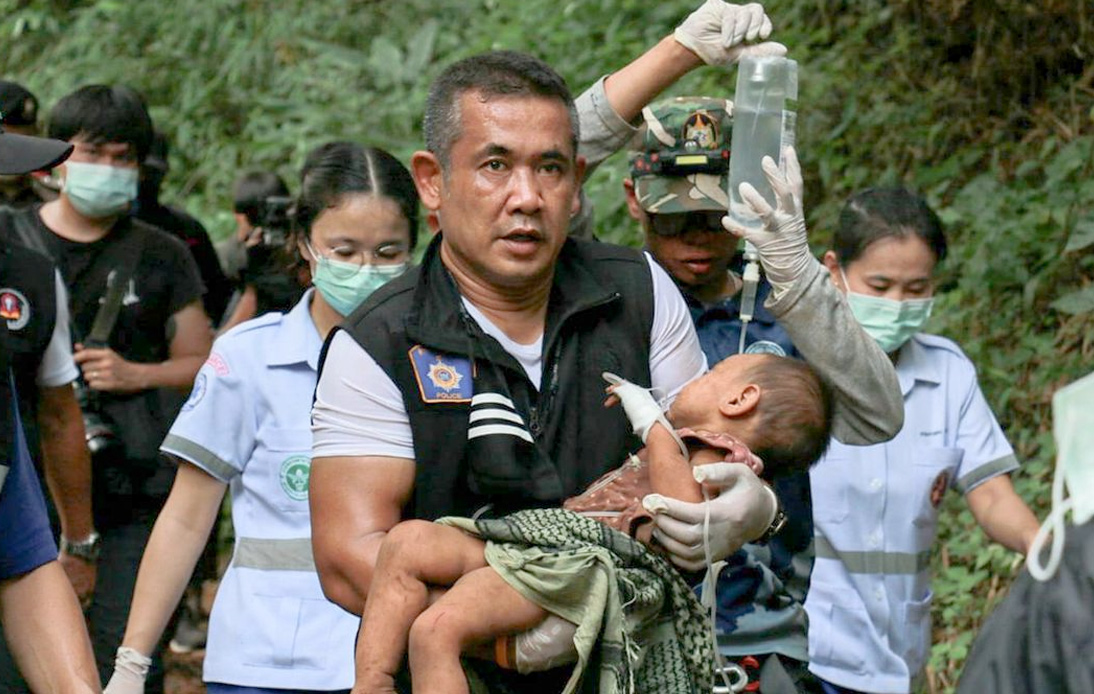 Rescuers Found Kidnapped Chiang Mai Girl in Remote Hut