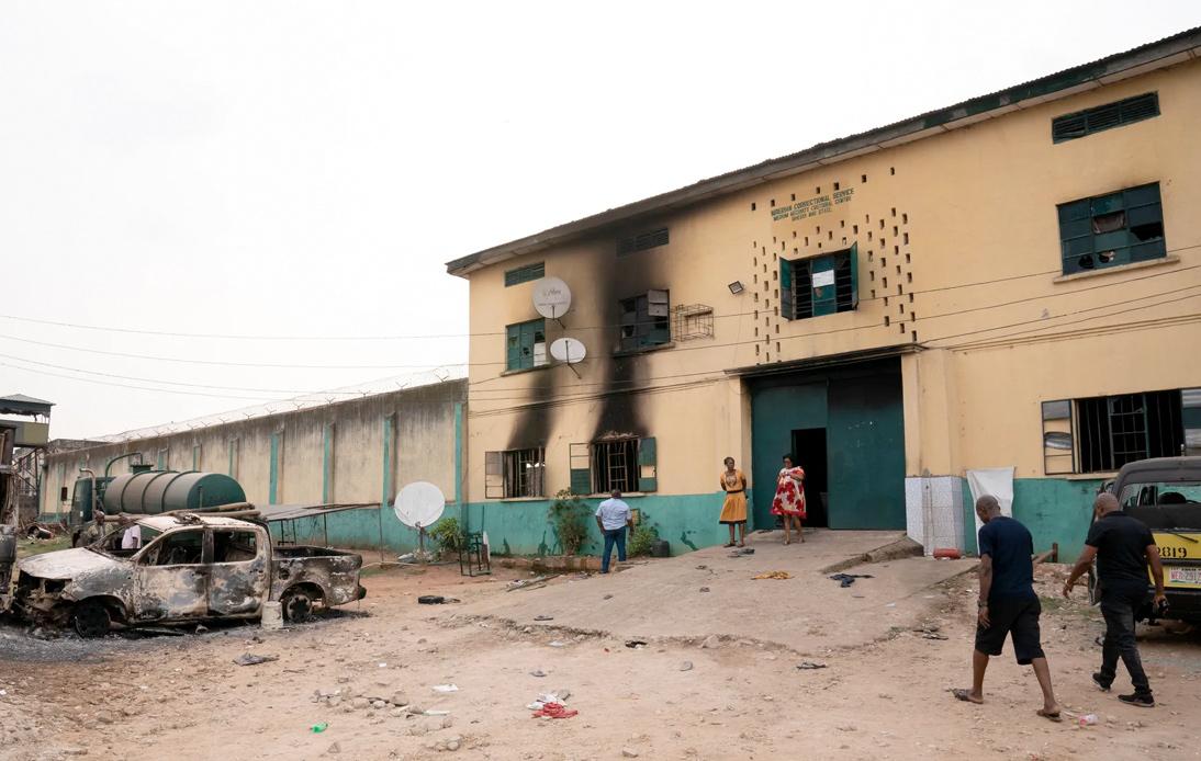 Nigeria: 240 Prisoners Escape Prison After Armed Attack