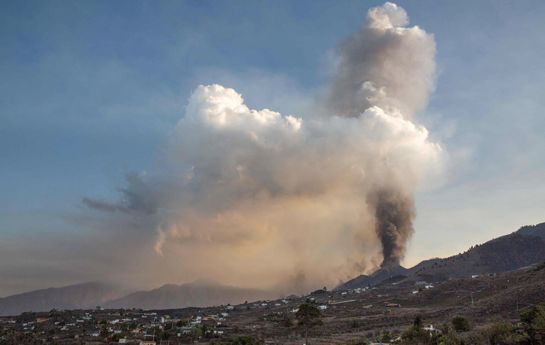 Volcano Eruption on La Palma Island Forces Airport To Close