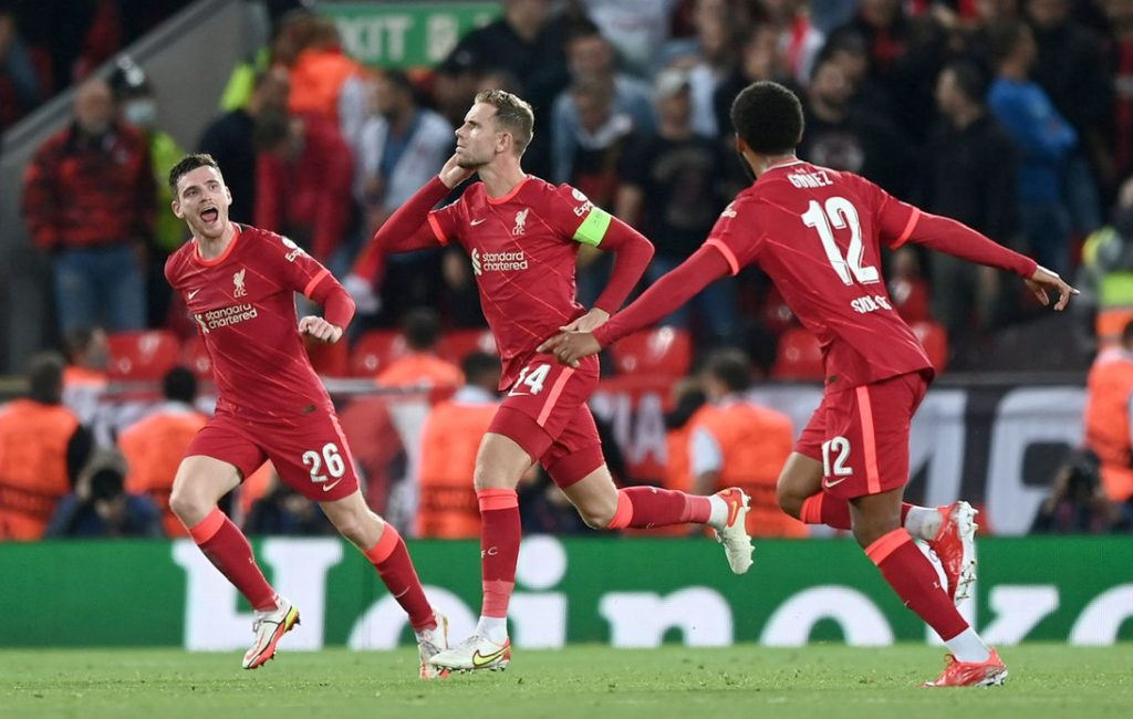 Liverpool Come From Behind To Win Against AC Milan