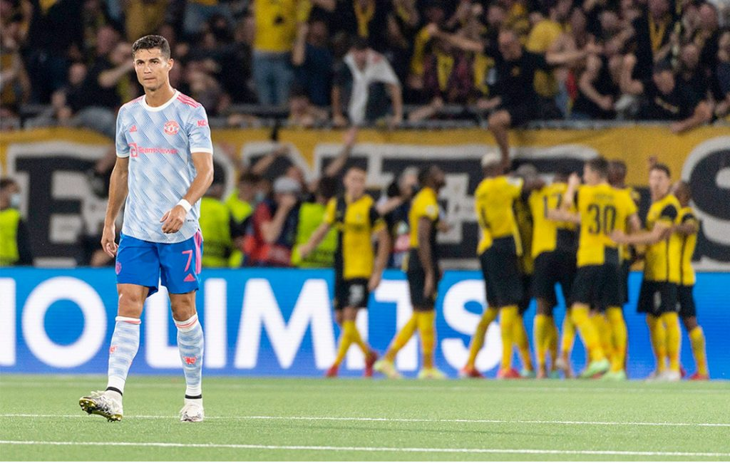 United Loses to Young Boys in Champions League Opener